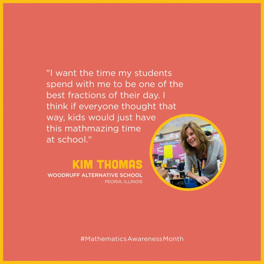 Kim Thomas - Woodruff Alternative School - Peoria, Illinois
