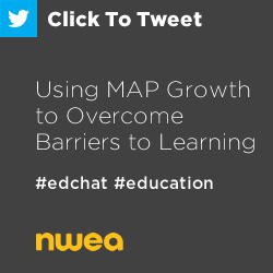 Tweet: Using MAP Growth to overcome barriers to #learning https://ctt.ec/D9de3+ #edchat #education