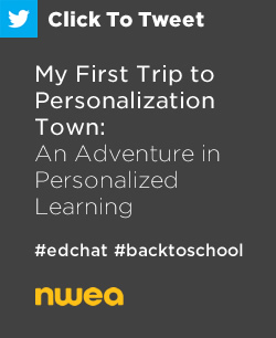 Tweet: My First Trip to Personalization Town – An Adventure in Personalized Learning https://ctt.ec/KoWpR+ #edchat #education via @NDF81