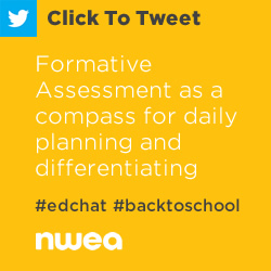 Tweet: #FormativeAssessment as a compass for daily planning and differentiating instruction https://ctt.ec/V7bCO+ #edchat via @kdyer13