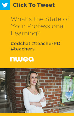 Tweet: What's the State of Your Professional Learning? https://ctt.ac/7feFb+ #edchat #teacherPD #teachers