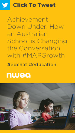 Tweet: Achievement Down Under: How an Australian School is Changing the Conversation with MAP Growth https://ctt.ac/33fy7+ #edchat #education #MAPGrowth