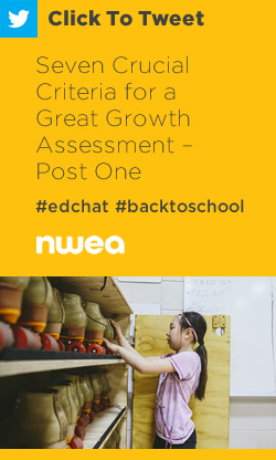 Tweet: Seven Crucial Criteria for a Great Growth Assessment – Post One https://ctt.ec/1c6rM+ #edchat #education #edresearch