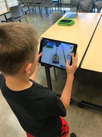 Back to School with the Innovation Lab - Boy on Tablet