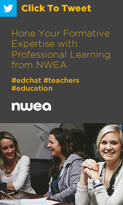 Tweet: Hone Your Formative Expertise with Professional Learning from NWEA https://ctt.ec/ETvu8+ #edchat #teachers #education