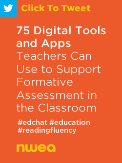 Tweet: 75 Digital Tools and Apps Teachers Can Use to Support Formative Assessment in the Classroom https://ctt.ec/3VL3I+ #edchat #education #teachers