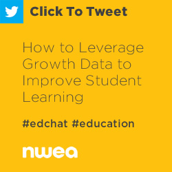 Tweet: How to Leverage Growth Data to Improve Student Learning https://ctt.ec/8VeOe+ #edchat #education #MAPGrowth