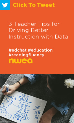 Tweet: 3 Teacher Tips for Driving Better Instruction with Data https://ctt.ec/32c6b+ #edchat #education #teaching #MAPGrowth
