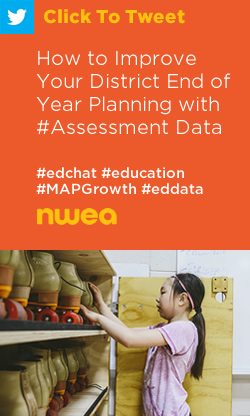 Tweet: How to Improve Your District End of Year Planning with #Assessment Data https://ctt.ec/d2HrW+ #edchat #education #MAPGrowth #eddata