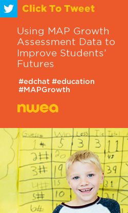 Tweet: Using MAP Growth Assessment Data to Improve Students' Futures https://ctt.ec/MC670+ #edchat #education #MAPGrowth