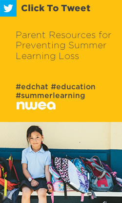 Tweet: Parent Resources for Preventing Summer Learning Loss https://ctt.ec/SbR17+ #edchat #education #summerlearning