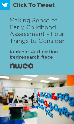Tweet: Making Sense of Early Childhood Assessment - Four Things to Consider https://ctt.ec/zcB1U+ #edchat #education #edresearch #ece