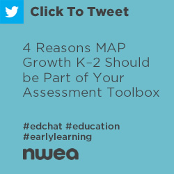 Tweet: 4 Reasons MAP Growth K–2 Should be Part of Your Assessment Toolbox https://ctt.ec/Xs4A1+ #edchat #education #earlylearning