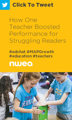 Tweet: How One Teacher Boosted Performance for Struggling Readers https://ctt.ec/zf9NB+ #edchat #MAPGrowth #education #teachers