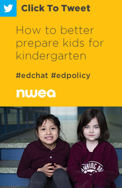 Tweet: How to Better Prepare Kids for Kindergarten https://nwea.us/2ObDe7n #edchat #edpolicy